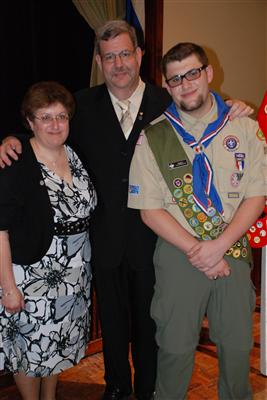 Dylan the Eagle Scout
